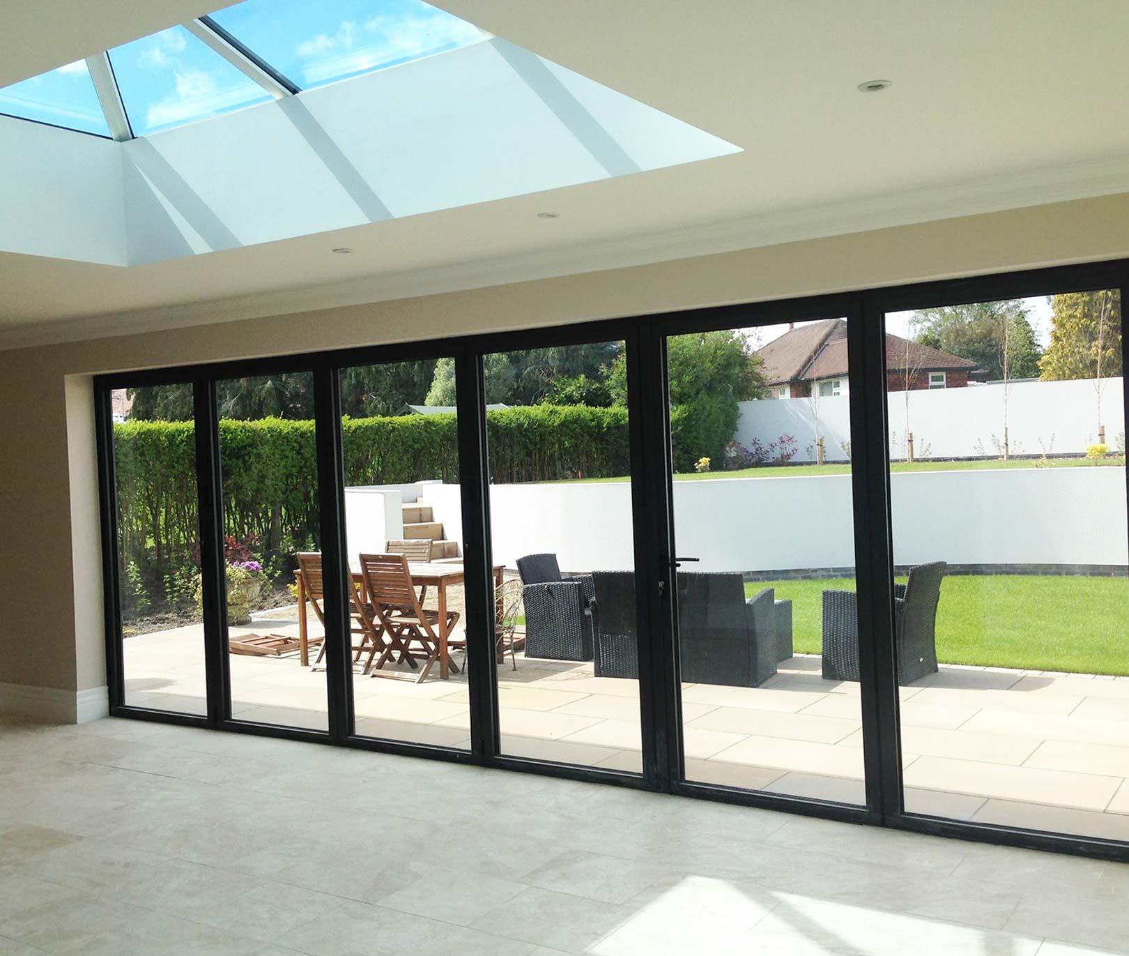 size 40 09bfb 485fd Aluminium bifold doors - Design Bifolds