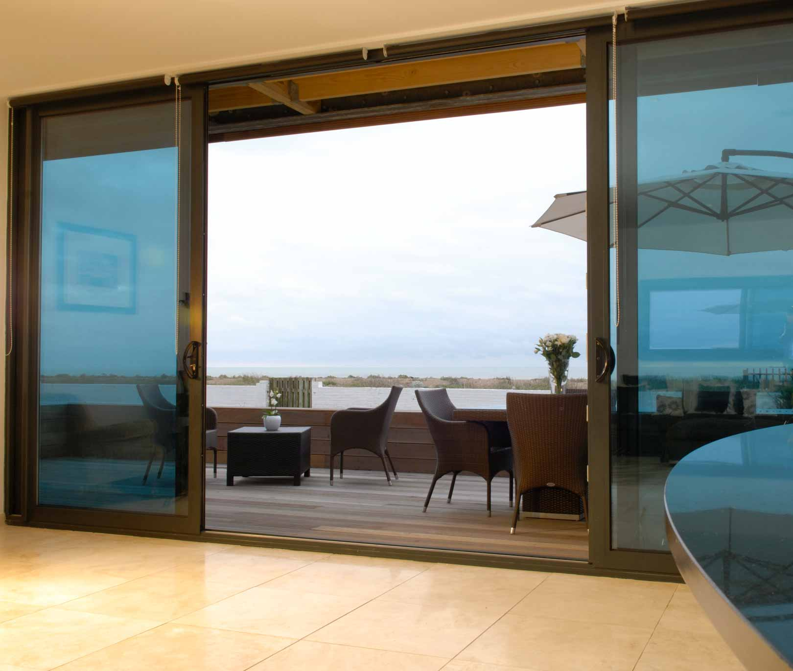 Discount patio doors center hinged patio doors 28 cheap for Center sliding patio doors